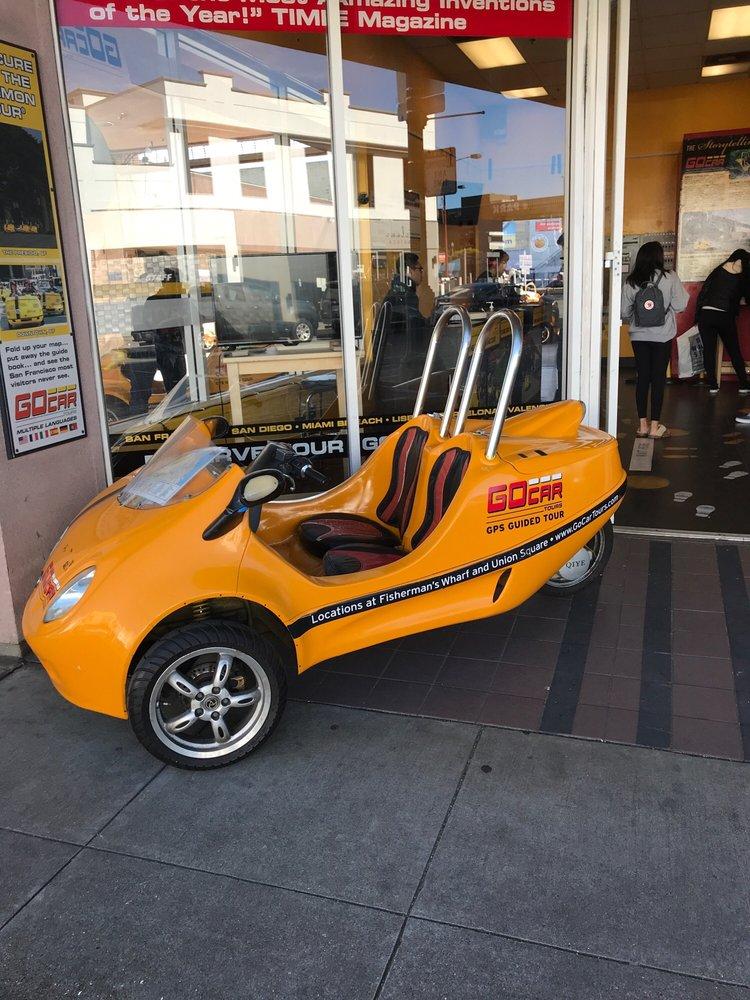 GoCar Tours: 431 Beach St, San Francisco, CA