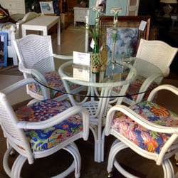 Photo Of Pelican Cottage   Osprey, FL, United States. New Wicker Dining Set