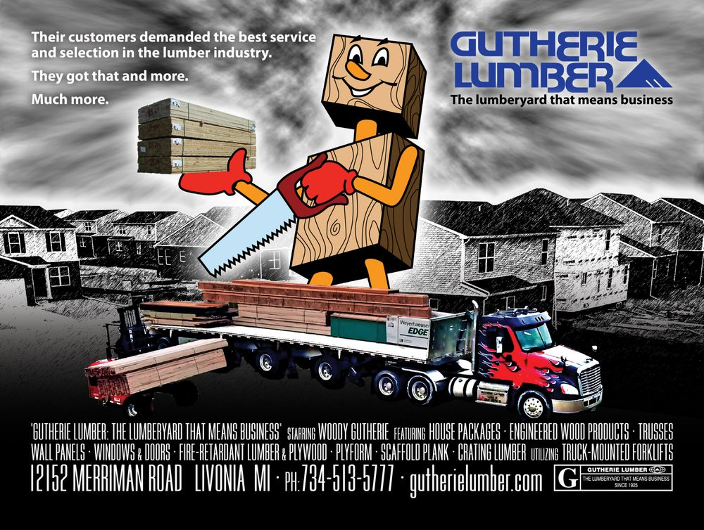 Gutherie Lumber Company: 12152 Merriman Rd, Livonia, MI