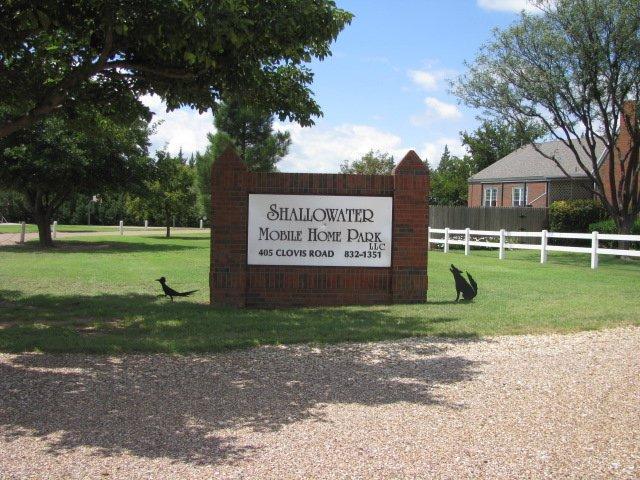 Shallowater Mobile Home & RV Park: 405 Clovis Rd, Shallowater, TX