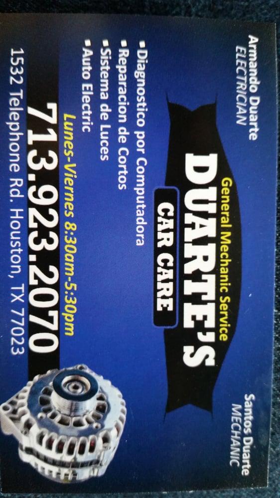 Duarte's Car Care: 1532 Telephone Rd, Houston, TX