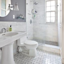 deluxe design construction contractors 247 west 46 st theater rh yelp com Bathroom Renovations Grey Bathroom Renovation Shower