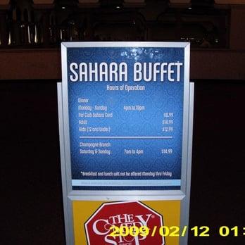 Sahara casino buffet casino in ok
