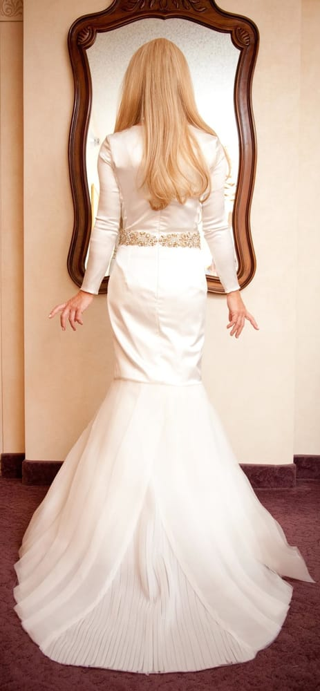 Wedding Dress Ping Nyc Yelp : Of lavan couture woodmere ny united states tznius wedding dress