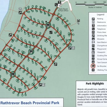 parksville bc map