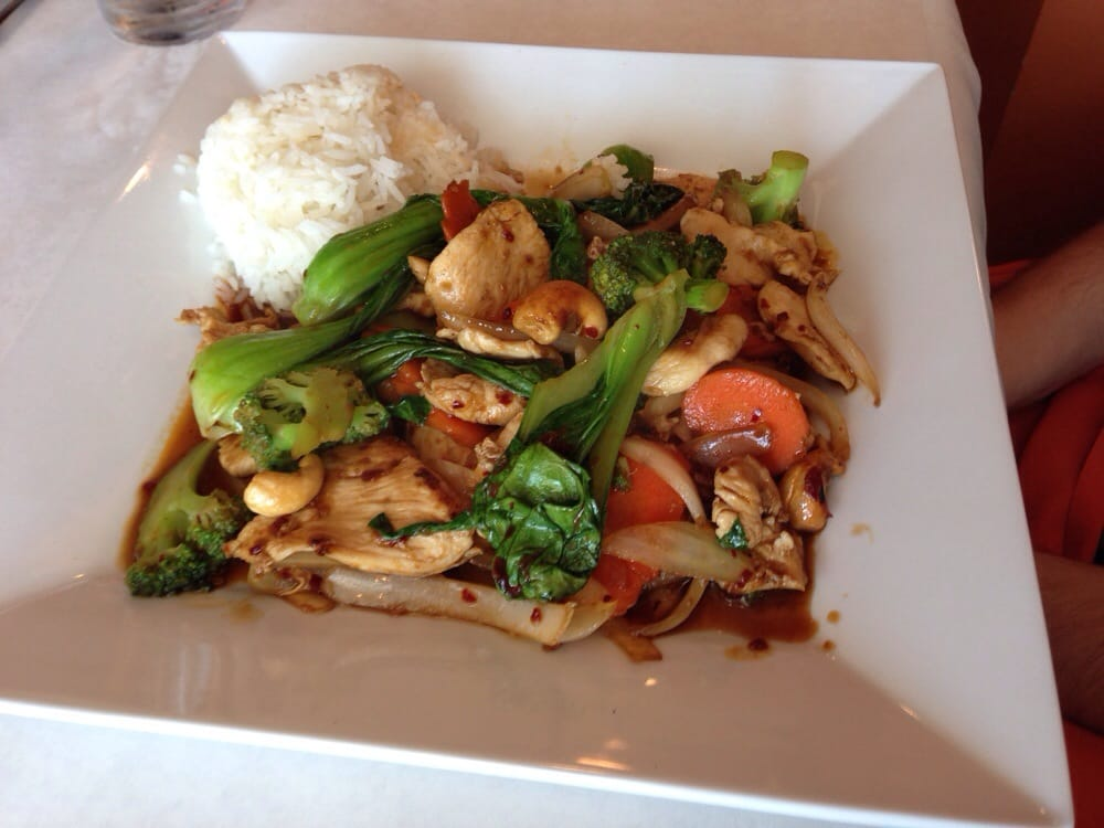 Spicey chicken yelp for Asian fusion cuisine