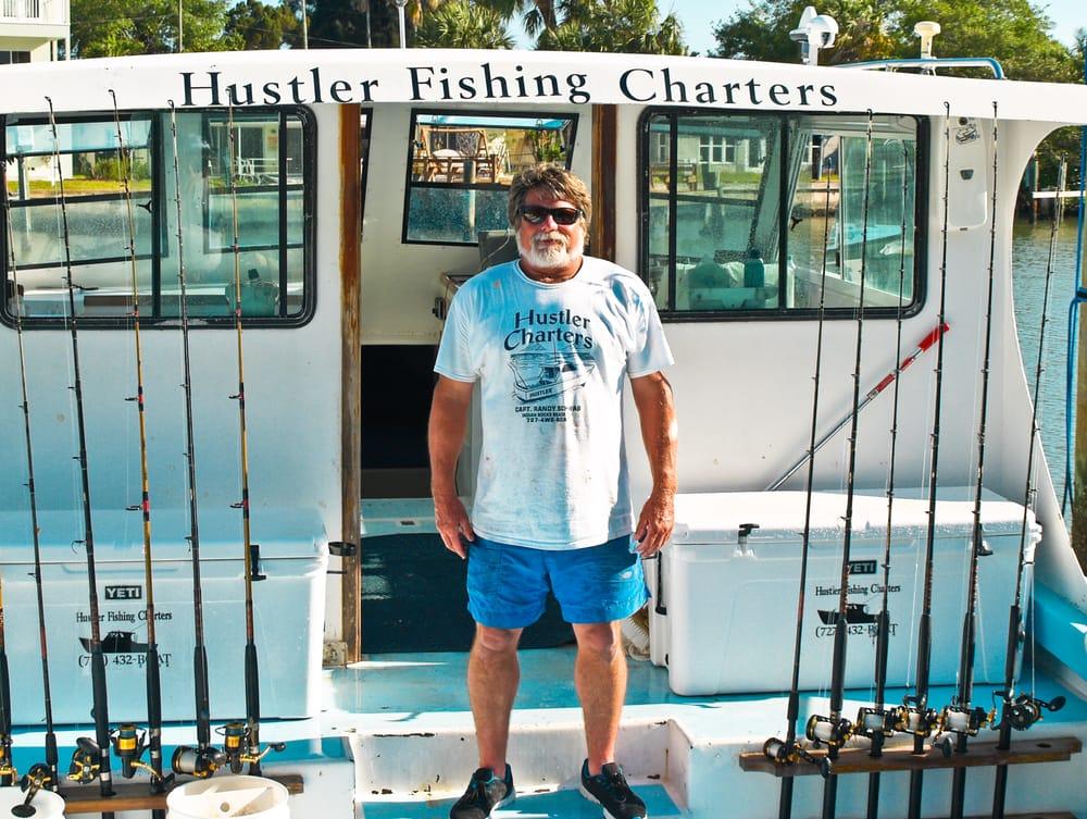 Hustler Charters: 315 12th Ave, Indian Rocks Beach, FL