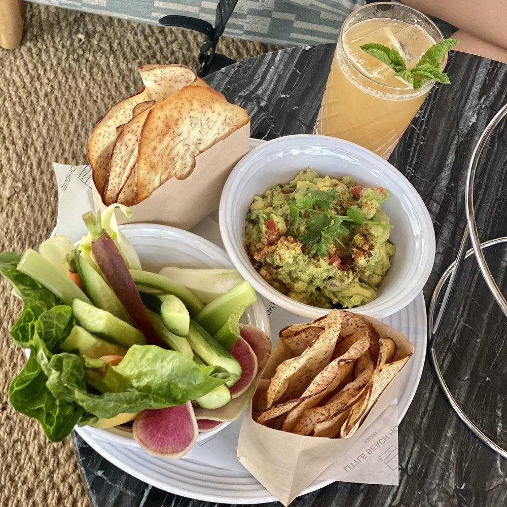 Food from The Little Beach House