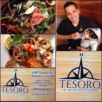 Tesoro Fine Mexican Restaurant 1687 Lander Ave Turlock Ca Restaurants Mapquest