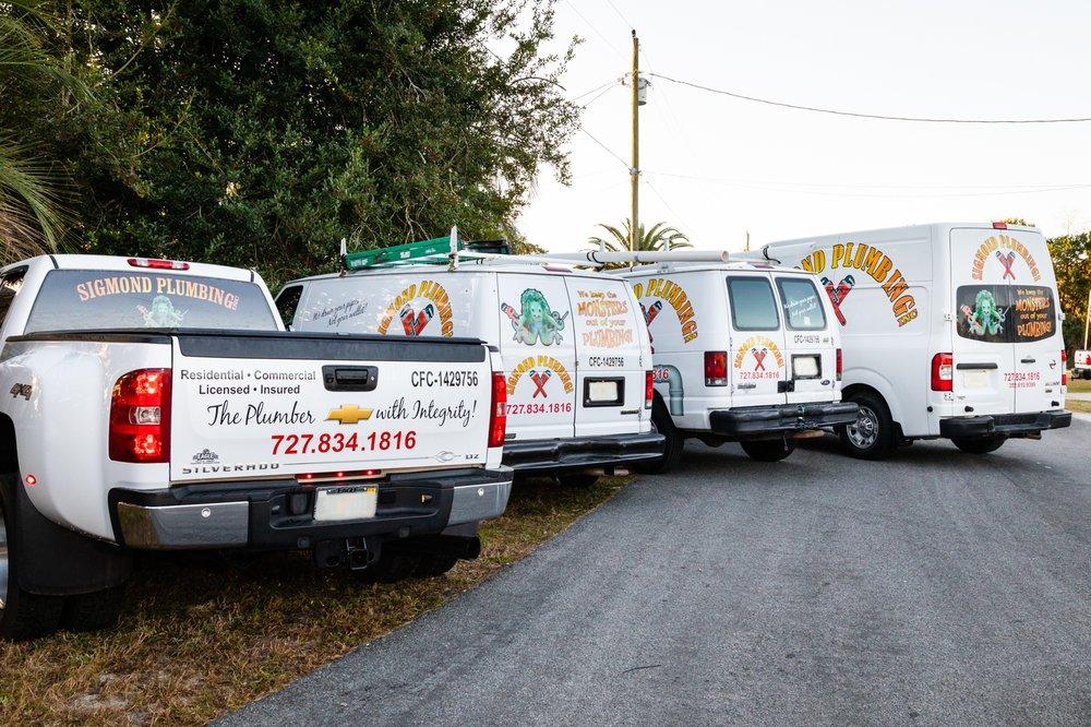 Sigmond Plumbing: Spring Hill, FL