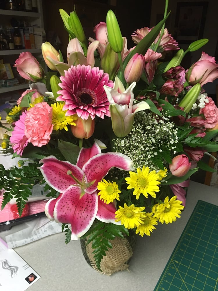 Thank you so much to the floral department for such a wonder bouquet ...