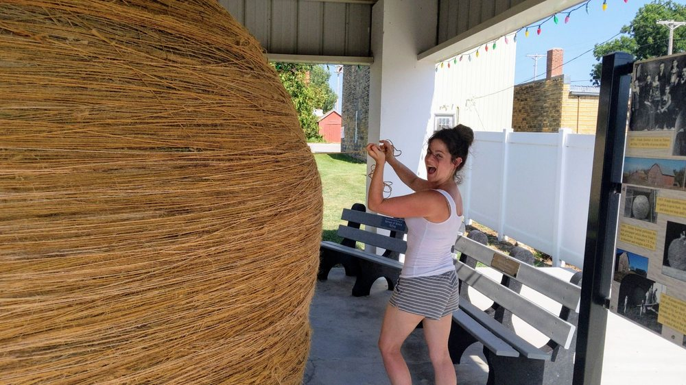 The World's Largest Ball of Twine: Cawker City, KS