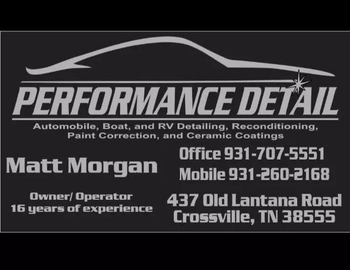 Performance Detail: 437 Old Lantana Rd, Crossville, TN