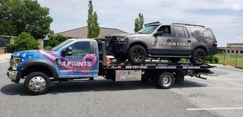 4 Points Towing & Roadside Assistance: Camden, DE