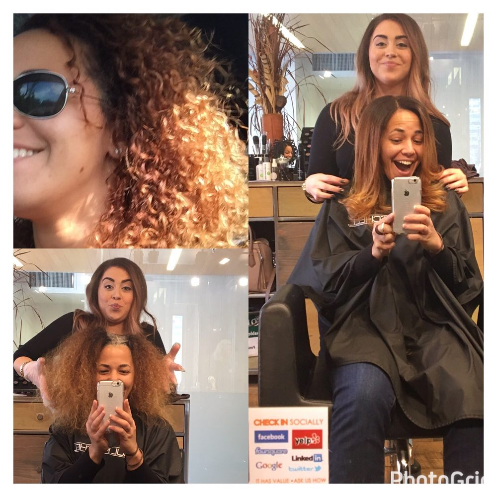 Second Visit--ombré Root Touch-up (Stylist: Molly Mummert