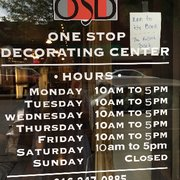 one stop decorating center - One Stop Decorating