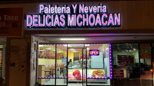 Paleteria Y Neveria Delicias Michoacan 1469 S San Jacinto Ave San