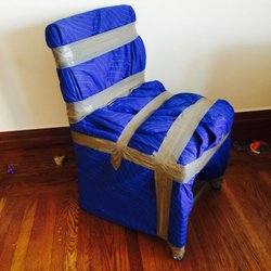 Photo Of Cross Country Movers   Dallas, TX, United States. Wrapped Chair.