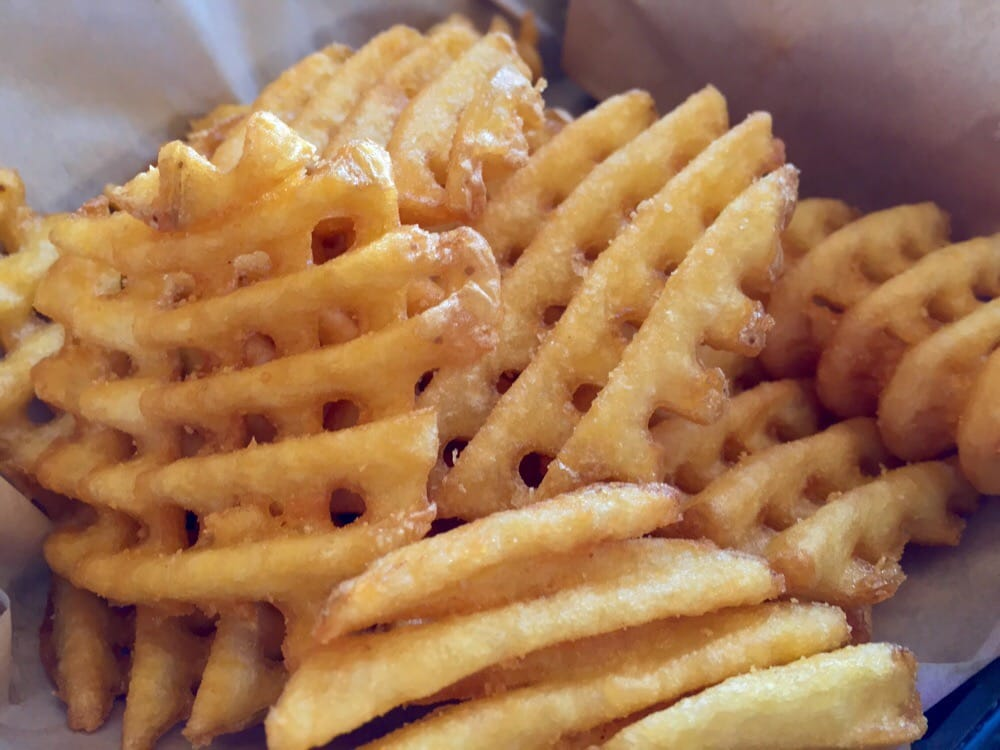 Waffle Fries Burgerville Yelp