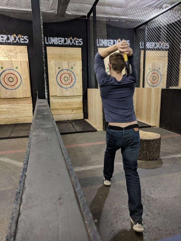 LumberjAxes - Axe Throwing Pittsburgh: 2 Sedgwick St, Pittsburgh, PA