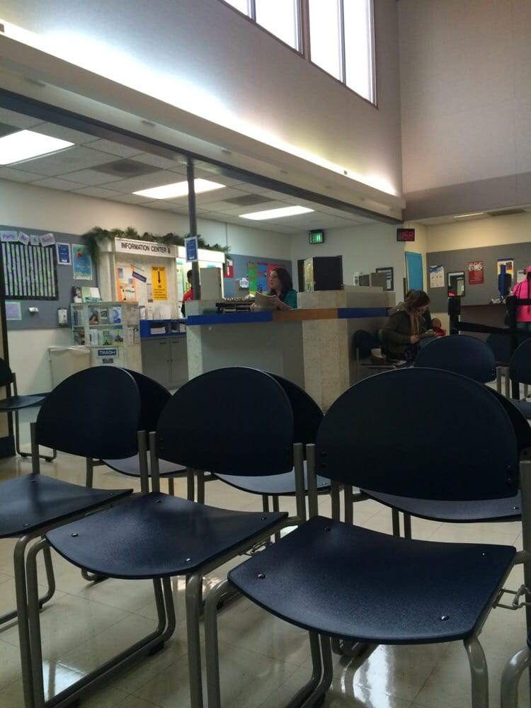Small crowd at the dmv yelp for Motor vehicle services division