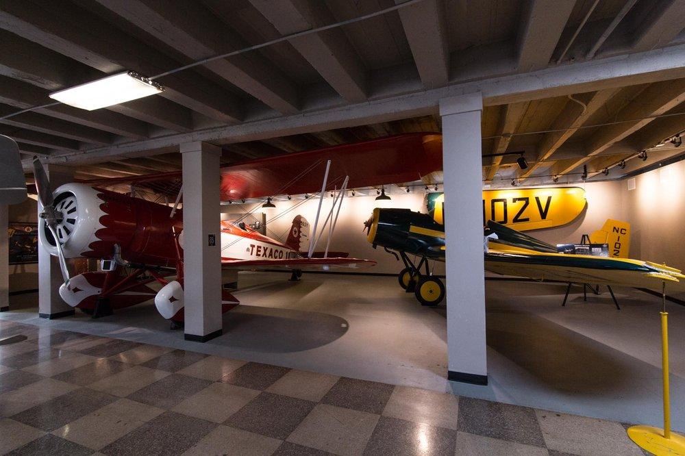 Kansas Aviation Museum: 3350 S George Washington Blvd, Wichita, KS