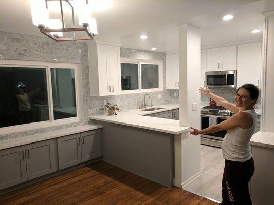 Elegant Kitchen Cabinets El Monte