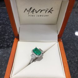 Photo Of Mavrik Fine Jewelry Diamonds Kirkwood Mo United States Custom