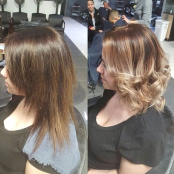 Photo Of Shadified Salon Spa Edmonton Ab Canada Before And After