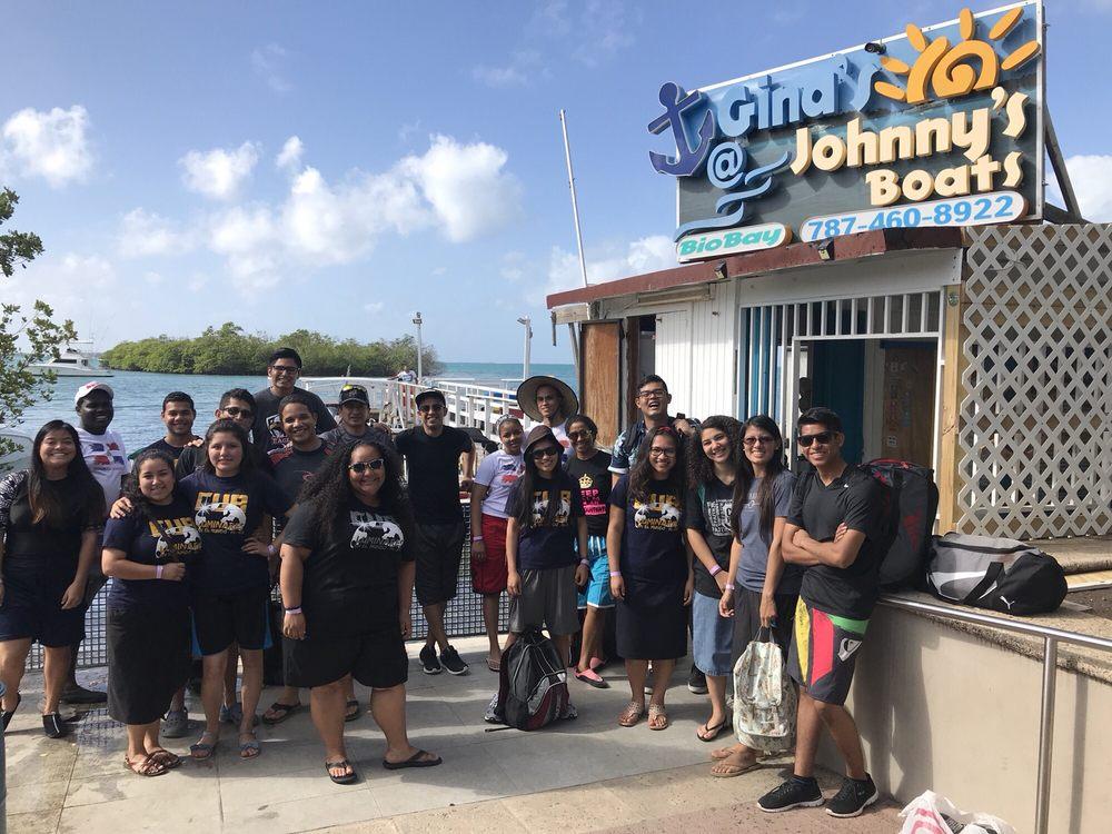Gina's @ Johnny's Boat's: La Parguera, PR