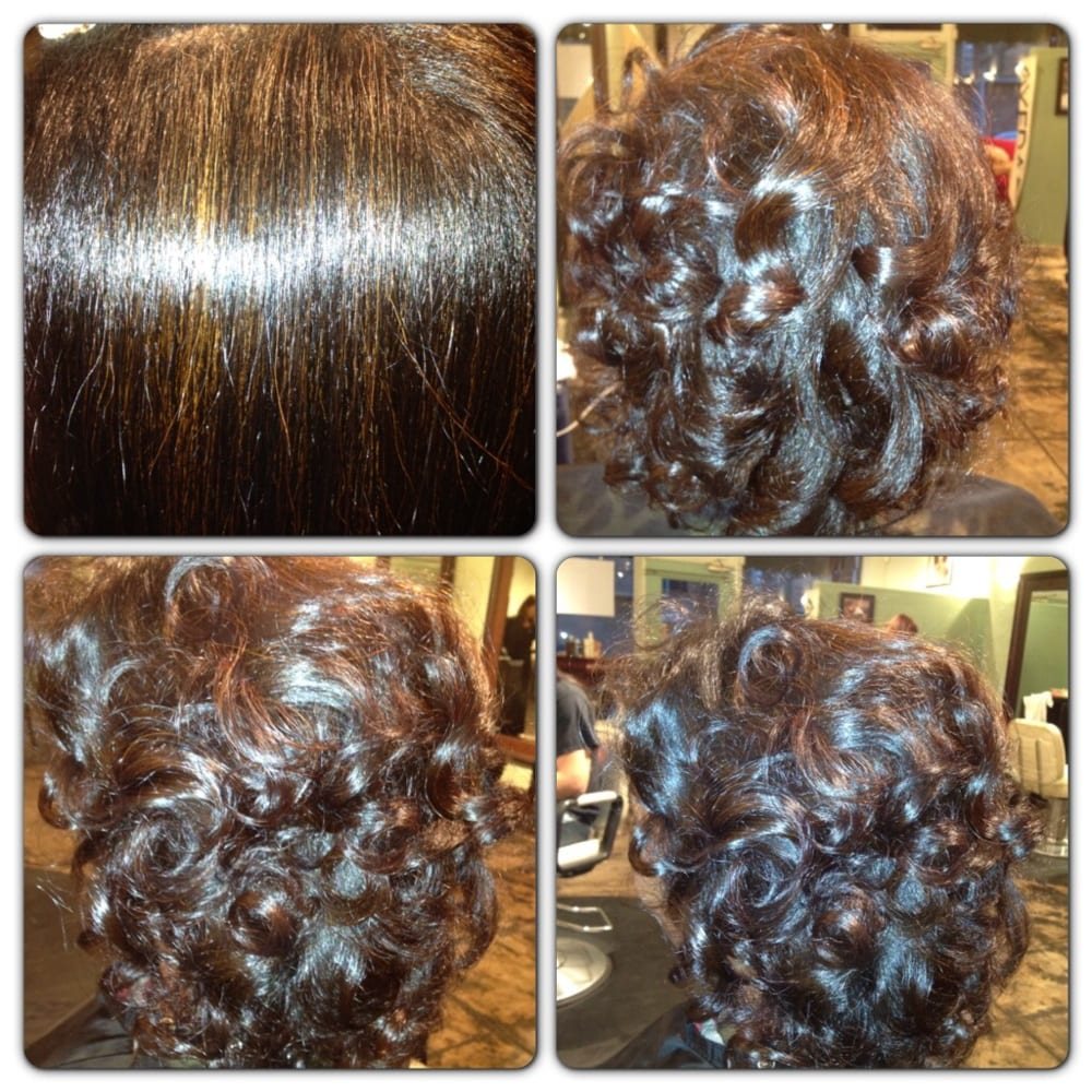 Beautiful Cellophane Highlights And Press Curl Let Those Gray