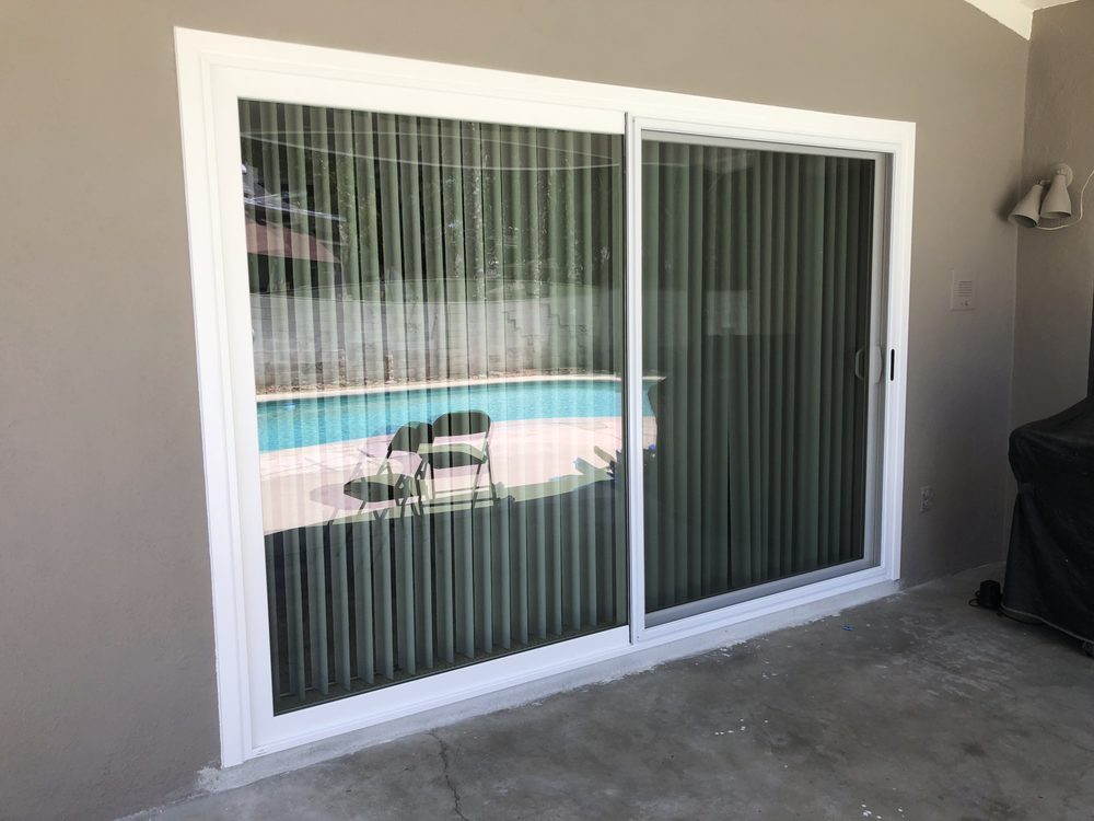 Look At My Beautiful New Milgard Tuscany Series Sliding Glass Door