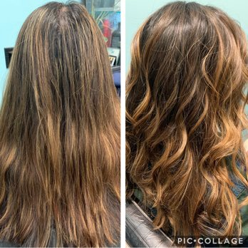 Color Correction End Results Natural Root Melt With