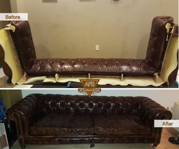 tufted chesterfield sofa couch disassembly assembly take apart break down moving fit yelp. Black Bedroom Furniture Sets. Home Design Ideas