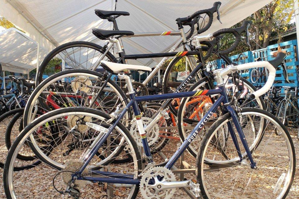 7920467d412 Photo of Austin Bike Farm - Austin, TX, United States. Pure Cycles road