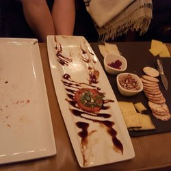 photo of cork cafe cypress tx united states 4 cheeses plate - Cork Cafe Decor