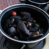 Photo Of Harborside Grill U0026 Patio   Boston, MA, United States. Mussels!