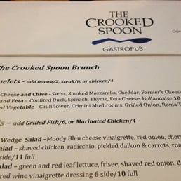 Photos For The Crooked Spoon Gastropub Menu Yelp