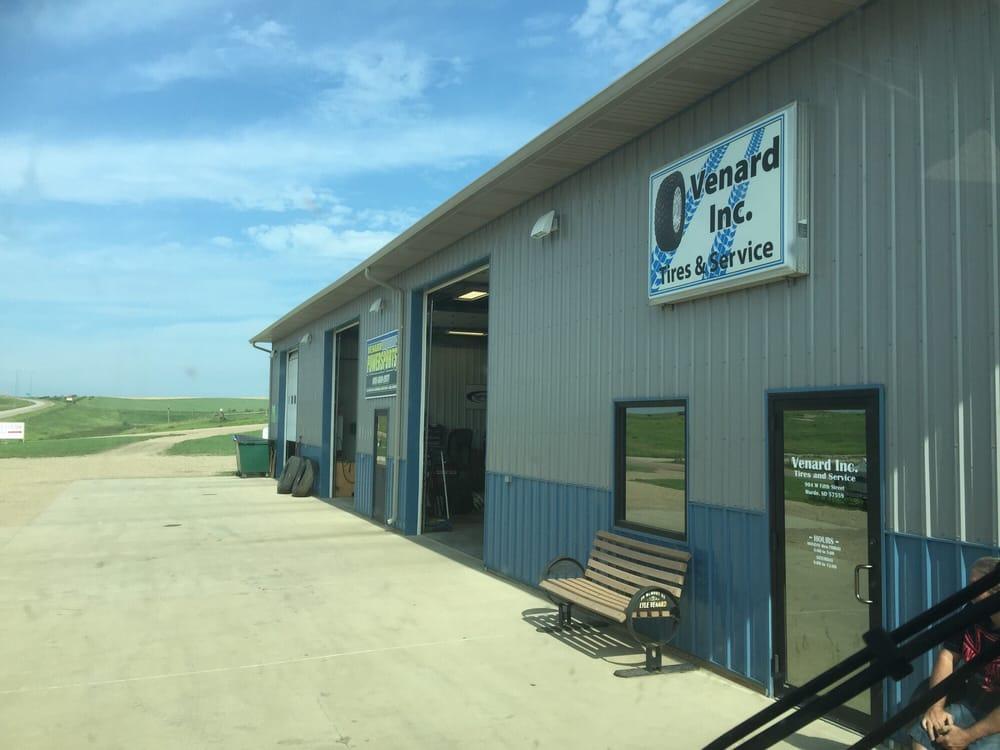 Venard Inc. Tires & Service: 904 W Fifth St, Murdo, SD