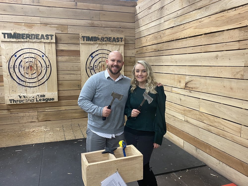 Timberbeast Axe Throwing: 2524 Medina Rd, Medina, OH