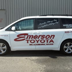 Photo Of Emerson Toyota   Auburn, ME, United States. Our Shuttle Van.