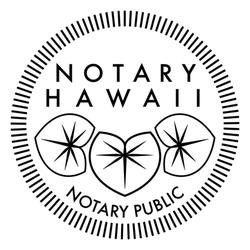 Notary hawaii notai 15 2727 oio st p hoa hi stati for Lucernari di hawaii llc