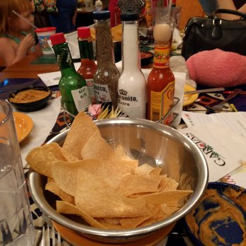 Photo Of Garcia S Mexican Restaurant Mesa Az United States Messy Table Shot