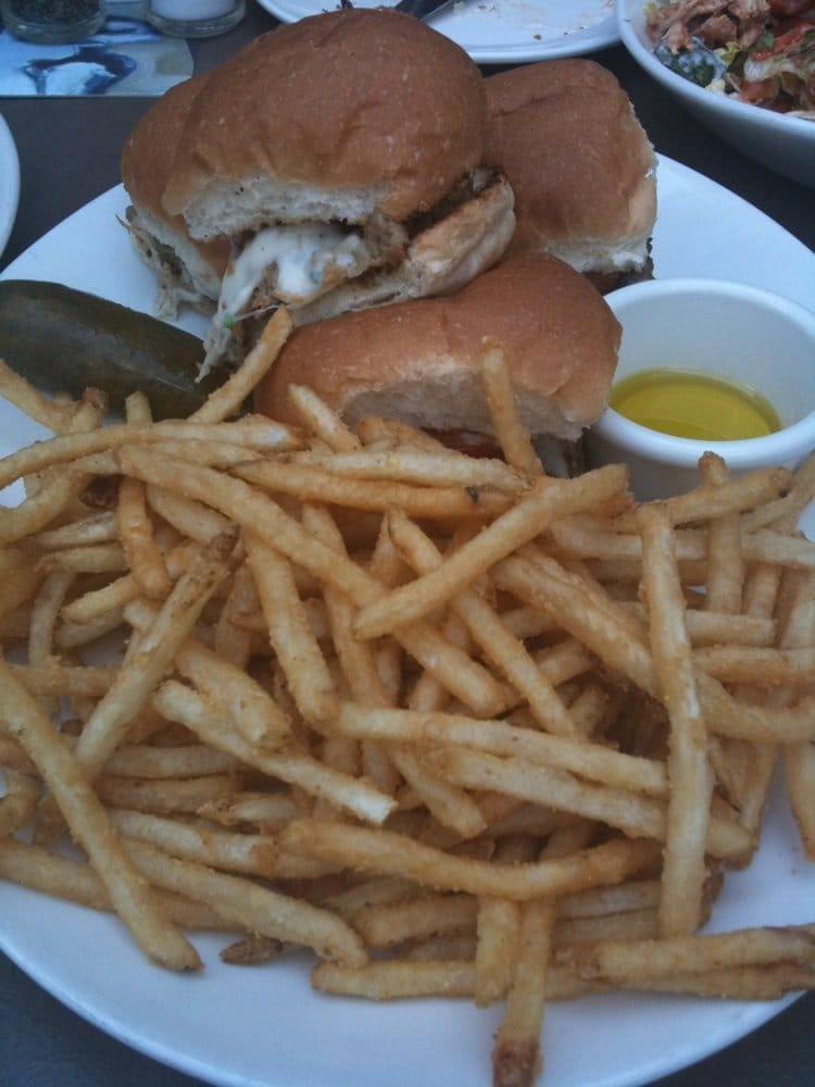 Highly recommend turkey sliders w a side of truffle oil for Classic sliders yard house