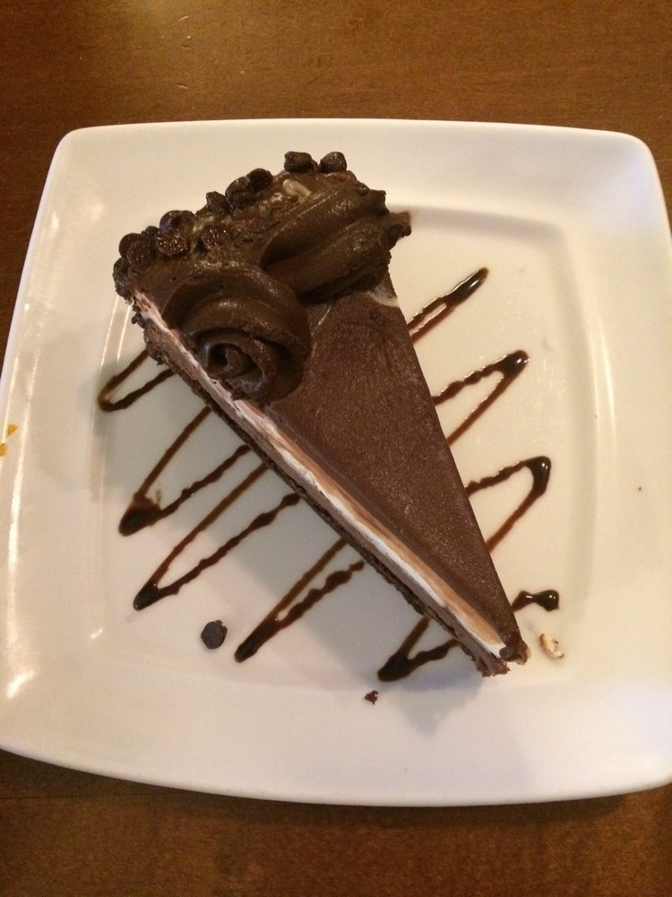 Free Birthday Slice Cheesecake And Chocolate Cake Put Together