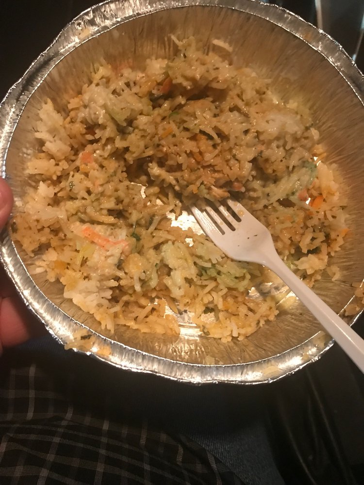 Food from Indian Grill