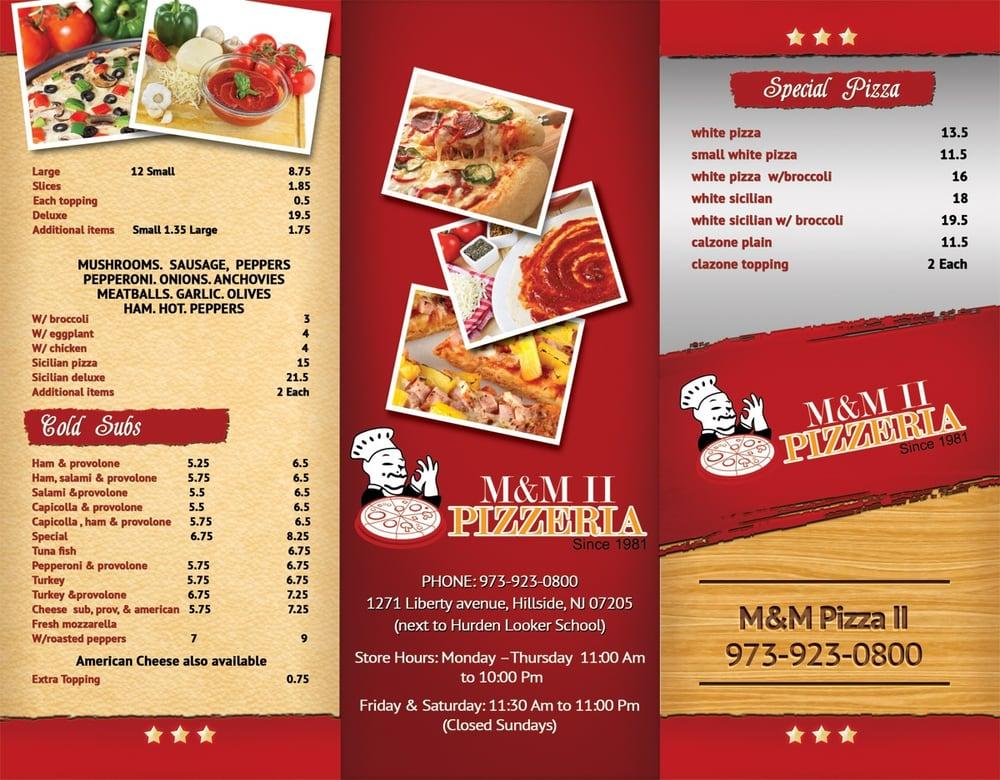 M M Pizza Restaurant Hillside Nj