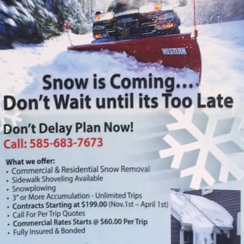 SPS Snow Removal - 16 Photos - Snow Removal - 78 Rocmar Dr ...
