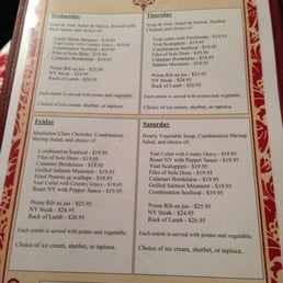 Photos for Garden Club Restaurant Menu Yelp
