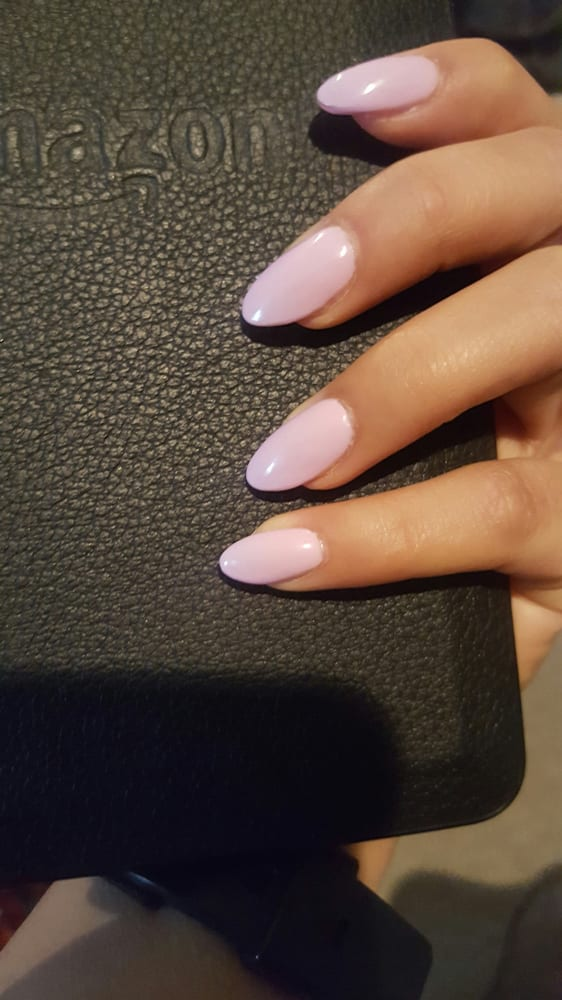 Photo of Perfection Nails - Fair Lawn, NJ, United States. Short pink almond